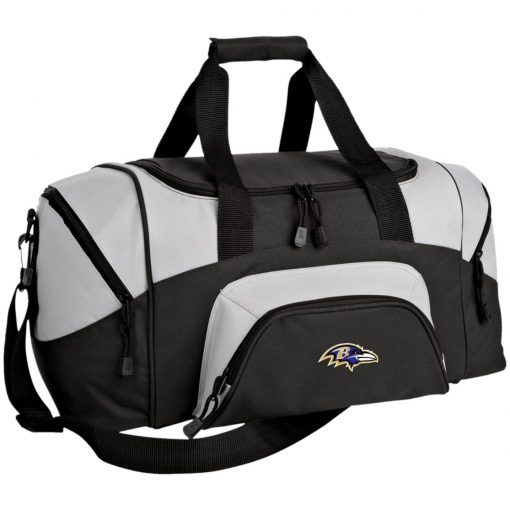 Private: Baltimore Ravens Small Colorblock Sport Duffel Bag