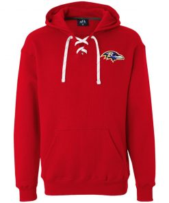 Private: Baltimore Ravens Heavyweight Sport Lace Hoodie