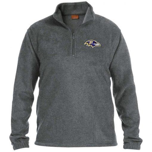 Private: Baltimore Ravens 1/4 Zip Fleece Pullover