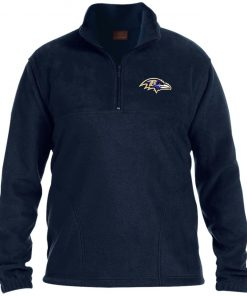 Private: Baltimore Ravens 1/4 Zip Fleece Pullover