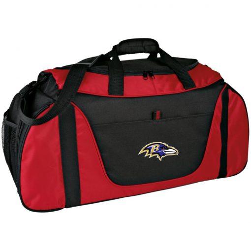 Private: Baltimore Ravens Medium Color Block Gear Bag