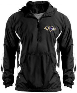 Private: Baltimore Ravens Unisex Colorblock Raglan Anorak
