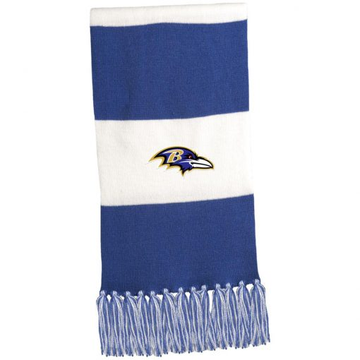 Private: Baltimore Ravens Fringed Scarf