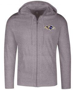 Private: Baltimore Ravens Lightweight Full Zip Hoodie