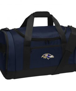 Private: Baltimore Ravens Travel Sports Duffel