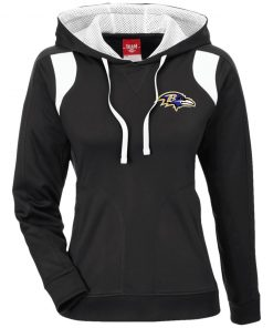 Private: Baltimore Ravens Ladies' Colorblock Poly Hoodie
