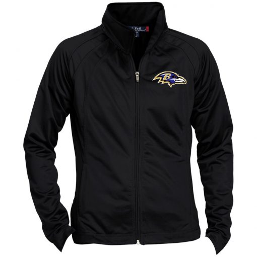 Private: Baltimore Ravens Ladies' Raglan Sleeve Warmup Jacket