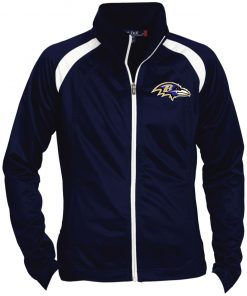 Private: Baltimore Ravens Ladies' Raglan Sleeve Warmup Jacket