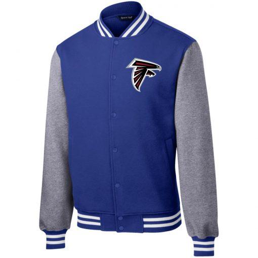 Private: Atlanta Falcons Fleece Letterman Jacket