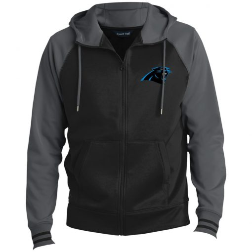 Private: Carolina Panthers Men's Sport-Wick® Full-Zip Hooded Jacket