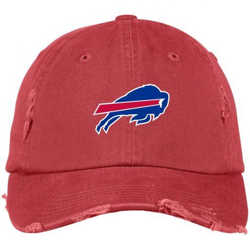 Private: Buffalo Bills Distressed Dad Cap
