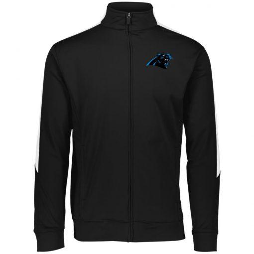 Private: Carolina Panthers Performance Colorblock Full Zip