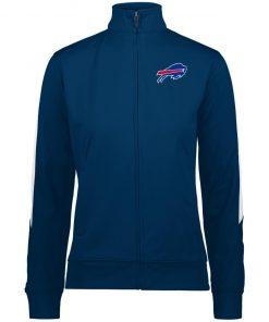 Private: Buffalo Bills Ladies' Performance Colorblock Full Zip
