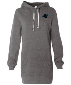 Private: Carolina Panthers Women's Hooded Pullover Dress