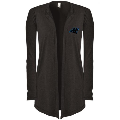 Private: Carolina Panthers Women's Hooded Cardigan