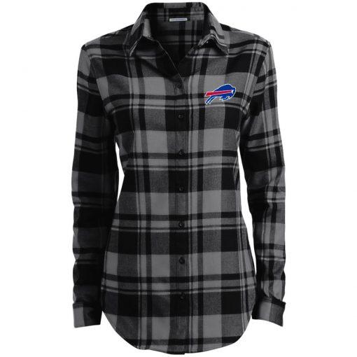 Private: Buffalo Bills Ladies' Plaid Flannel Tunic