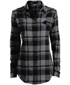 Private: Carolina Panthers Ladies' Plaid Flannel Tunic