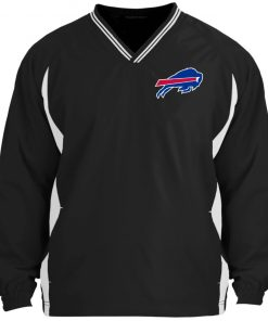 Private: Buffalo Bills Tipped V-Neck Windshirt