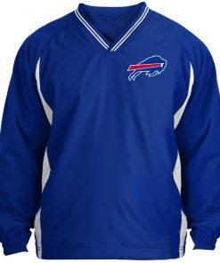 Private: Buffalo Bills Tipped V-Neck Windshirt