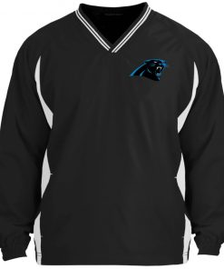 Private: Carolina Panthers Tipped V-Neck Windshirt