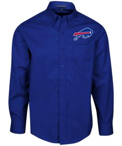 Private: Buffalo Bills Men's LS Dress Shirt