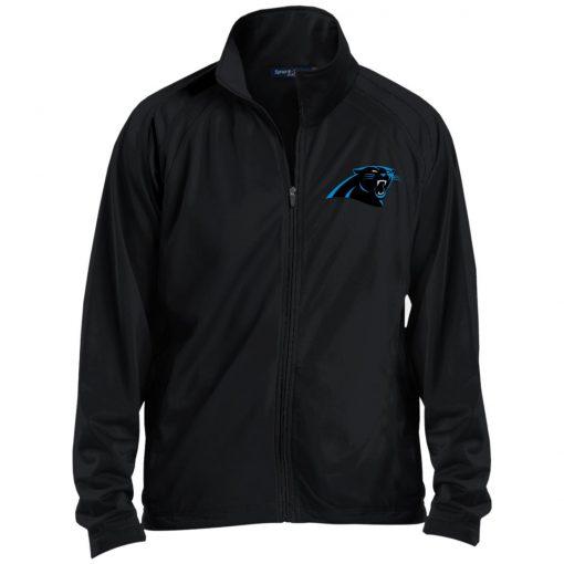 Private: Carolina Panthers Men's Raglan Sleeve Warmup Jacket