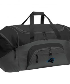 Private: Carolina Panthers Colorblock Sport Duffel