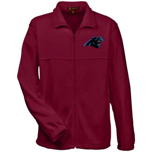 Private: Carolina Panthers Fleece Full-Zip