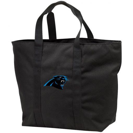 Private: Carolina Panthers All Purpose Tote Bag