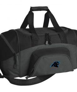 Private: Carolina Panthers Small Colorblock Sport Duffel Bag