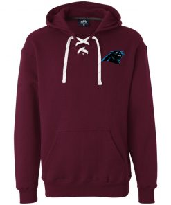 Private: Carolina Panthers Heavyweight Sport Lace Hoodie