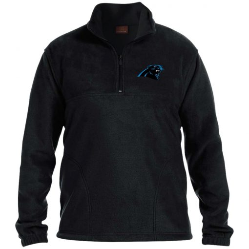 Private: Carolina Panthers 1/4 Zip Fleece Pullover