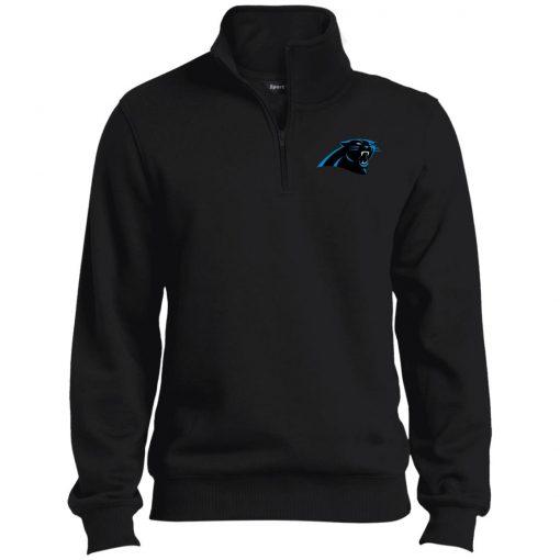 Private: Carolina Panthers Tall 1/4 Zip Sweatshirt