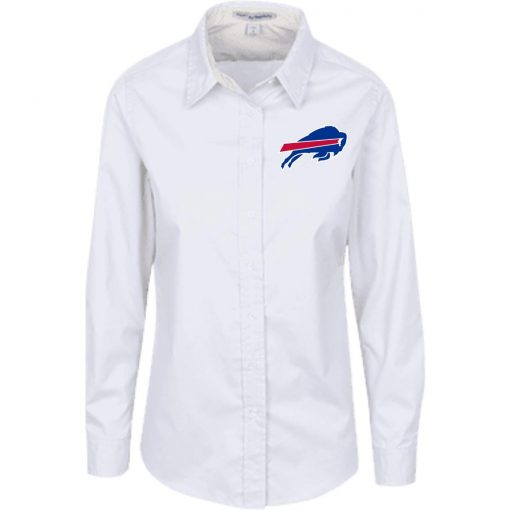 Private: Buffalo Bills Ladies' LS Blouse