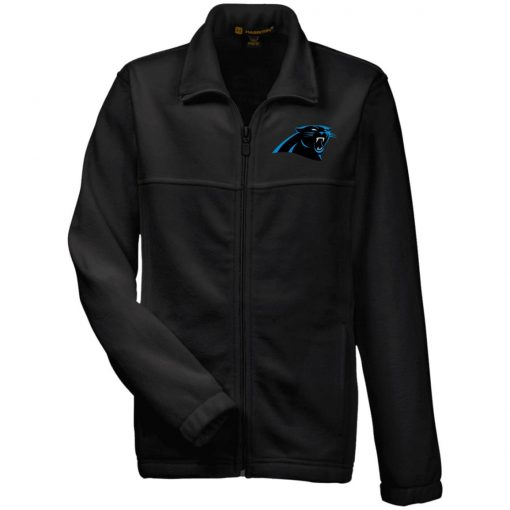 Private: Carolina Panthers Youth Fleece Full Zip