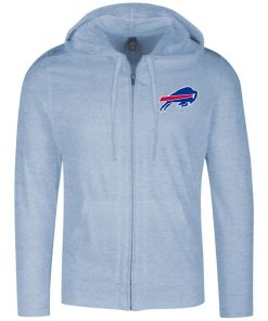 Private: Buffalo Bills Lightweight Full Zip Hoodie