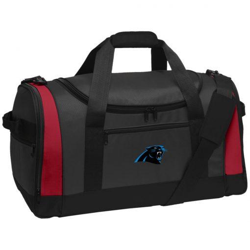 Private: Carolina Panthers Travel Sports Duffel