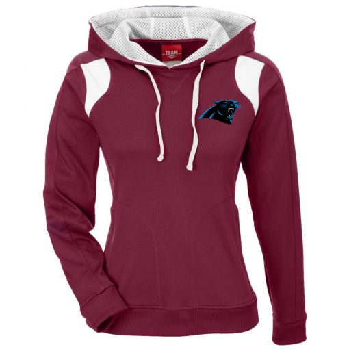 Private: Carolina Panthers Ladies' Colorblock Poly Hoodie