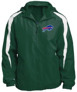 Private: Buffalo Bills Fleece Lined Colorblocked Hooded Jacket