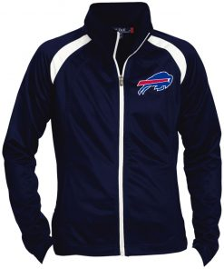 Private: Buffalo Bills Ladies' Raglan Sleeve Warmup Jacket