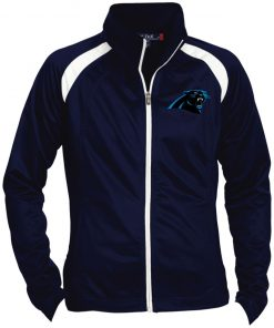 Private: Carolina Panthers Ladies' Raglan Sleeve Warmup Jacket