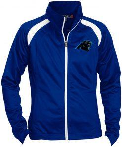 Private: Carolina Panthers Ladies' Raglan Sleeve Warmup Jacket