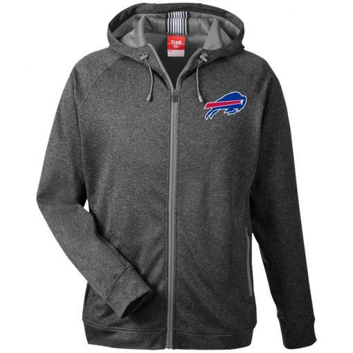 Private: Buffalo Bills Men's Heathered Performance Hooded Jacket