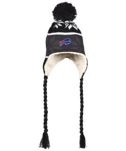 Private: Buffalo Bills Hat with Ear Flaps and Braids