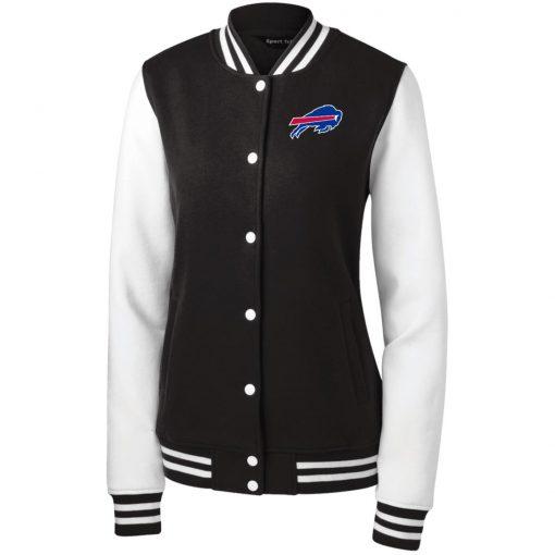 Private: Buffalo Bills Women's Fleece Letterman Jacket