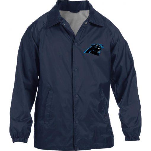 Private: Carolina Panthers Nylon Staff Jacket