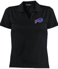 Private: Buffalo Bills Ladies' Dri-Mesh Short Sleeve Polo