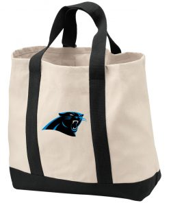 Private: Carolina Panthers 2-Tone Shopping Tote