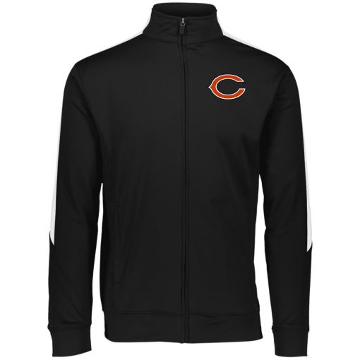 Private: Chicago Bears Performance Colorblock Full Zip