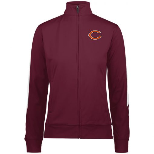 Private: Chicago Bears Ladies' Performance Colorblock Full Zip